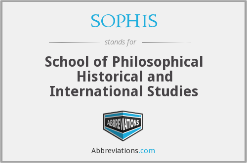 What does SOPHIS stand for?