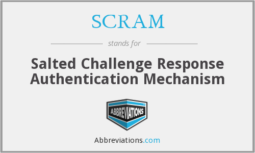 SCRAM - Salted Challenge Response Authentication Mechanism