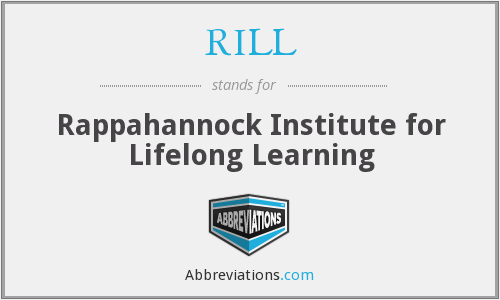 RILL - Rappahannock Institute for Lifelong Learning