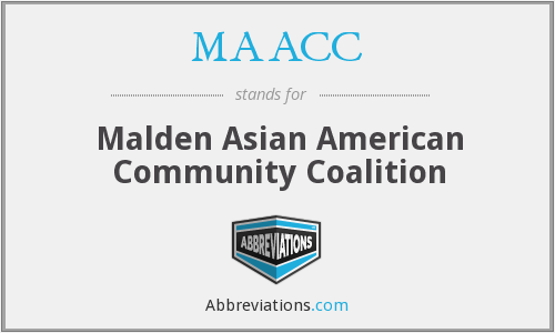 What does MAACC stand for?