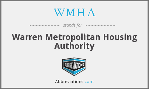 WMHA - Warren Metropolitan Housing Authority