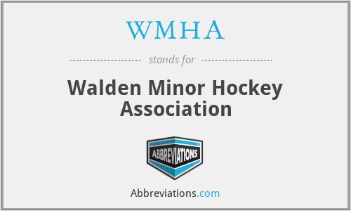 WMHA - Walden Minor Hockey Association