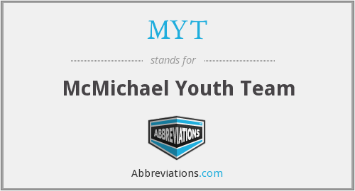 MYT - McMichael Youth Team