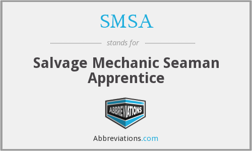 SMSA - Salvage Mechanic Seaman Apprentice