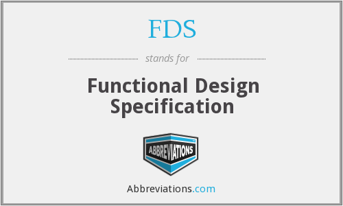 FDS - Functional Design Specification