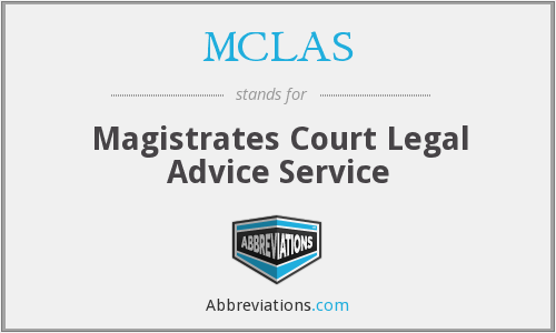 What does MCLAS stand for?