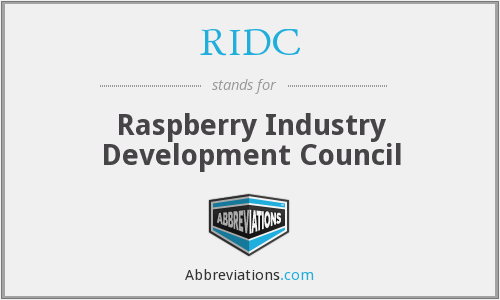 RIDC - Raspberry Industry Development Council