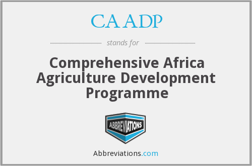 What does CAADP stand for?