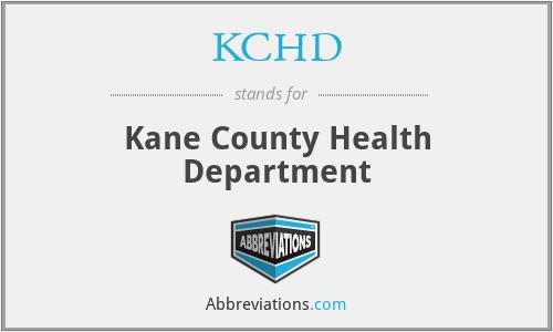 KCHD - Kane County Health Department
