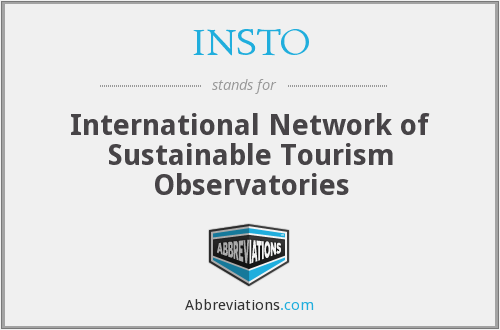 What does INSTO stand for?