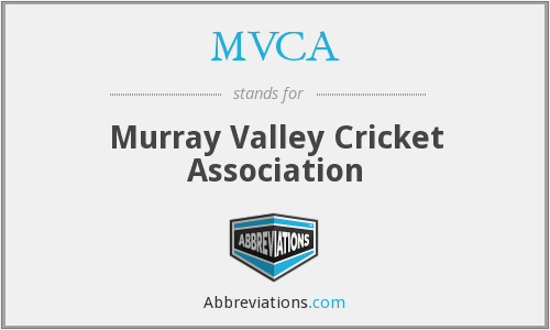 MVCA - Murray Valley Cricket Association