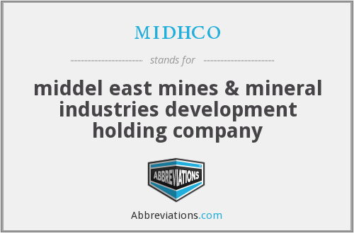 What does MIDHCO stand for?