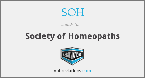 SOH - Society of Homeopaths