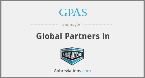 GPAS - Global Partners in