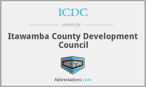 ICDC - Itawamba County Development Council
