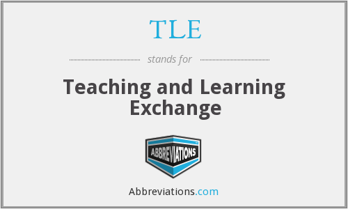 TLE - Teaching and Learning Exchange