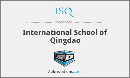 ISQ - International School of Qingdao
