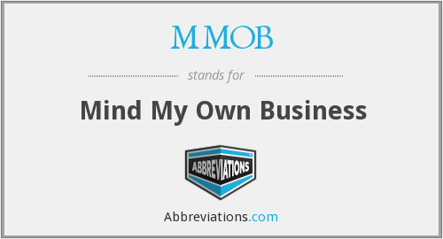 What does MMOB stand for?
