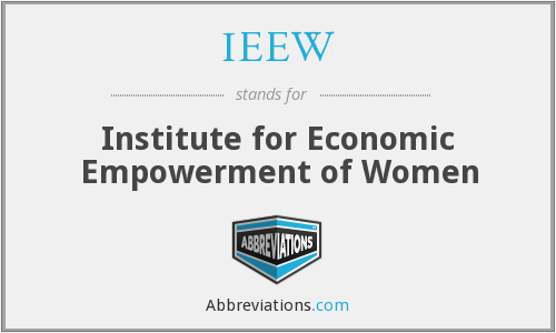 What does IEEW stand for?