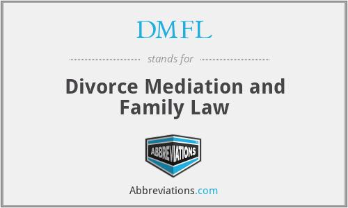 DMFL - Divorce Mediation and Family Law