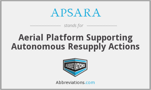 What does APSARA stand for?