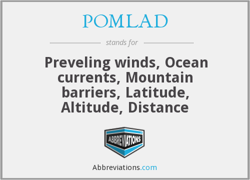 What does POMLAD stand for?