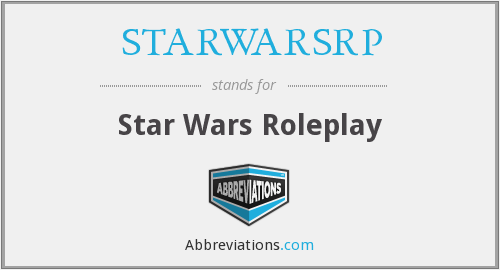 What does STARWARSRP stand for?