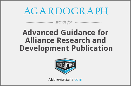 What does AGARDOGRAPH stand for?