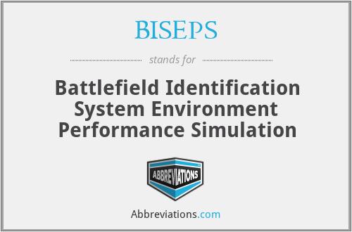BISEPS - Battlefield Identification System Environment Performance Simulation