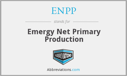 What does ENPP stand for?