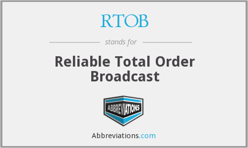What does RTOB stand for?