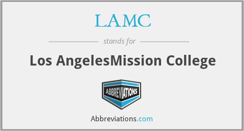 LAMC - Los AngelesMission College