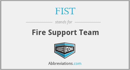 FIST - Fire Support Team