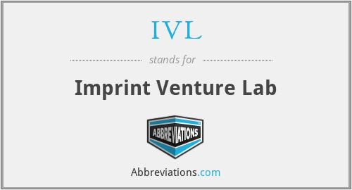 IVL - Imprint Venture Lab