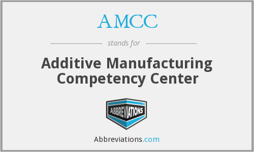 AMCC - Additive Manufacturing Competency Center