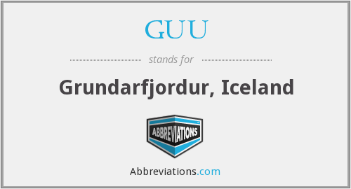 What does GUU stand for?