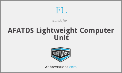 FL - AFATDS Lightweight Computer Unit