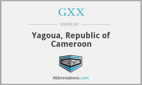 GXX - Yagoua, Republic of Cameroon