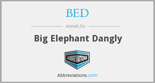 What does African Elephant stand for?