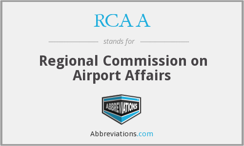 RCAA - Regional Commission on Airport Affairs