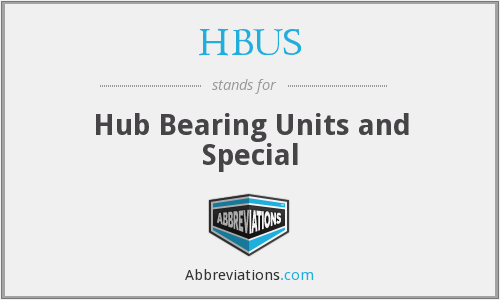 What does HBUS stand for?