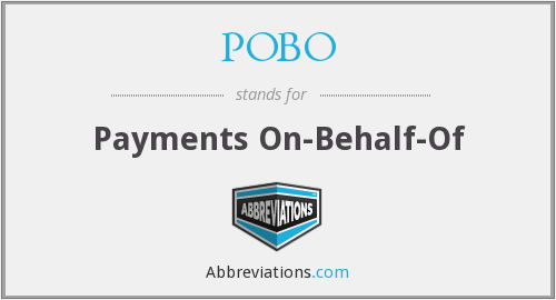 What does POBO stand for?