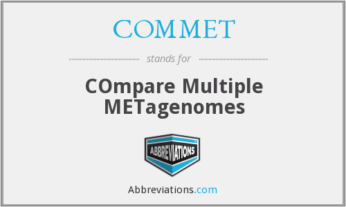 What does COMMET stand for?