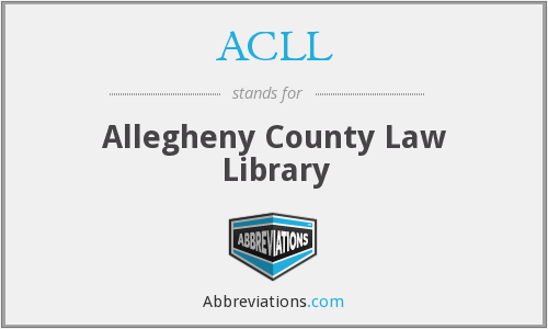 What does ACLL stand for?