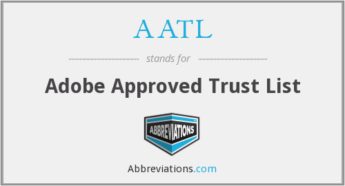 What does AATL stand for?