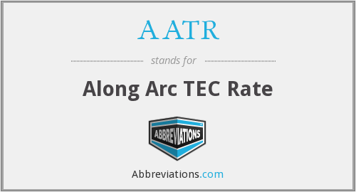 What does AATR stand for?