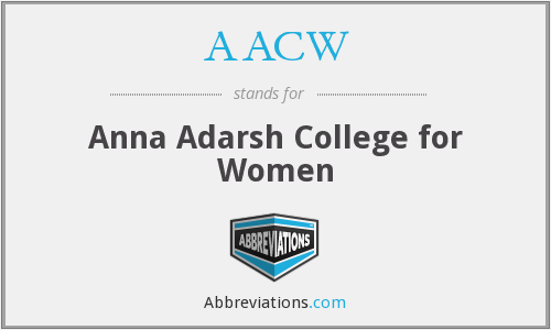 What does AACW stand for?