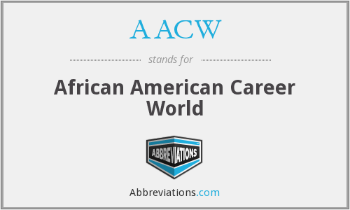 AACW - African American Career World