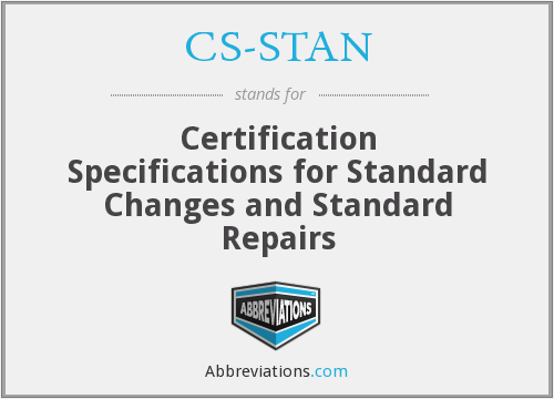 What does CS-STAN stand for?