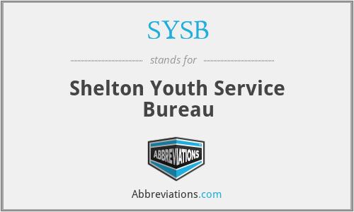 SYSB - Shelton Youth Service Bureau